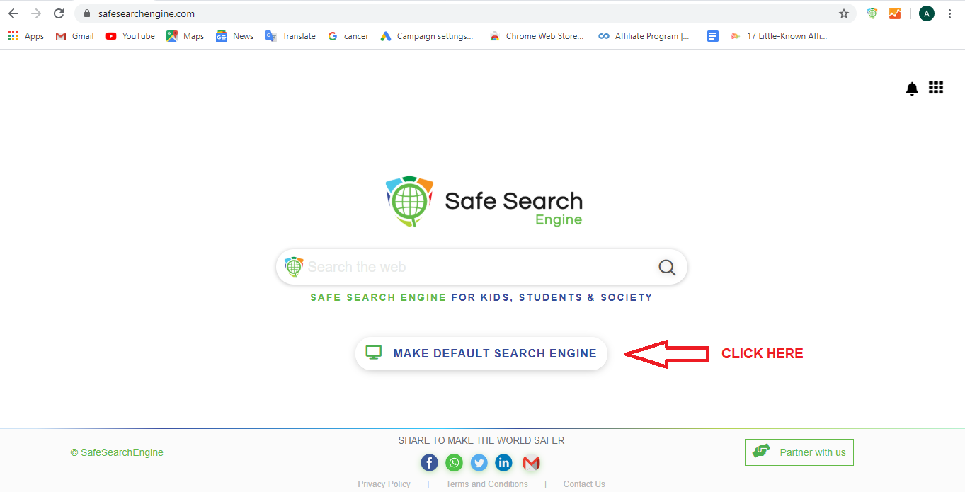 Safesearch Extension