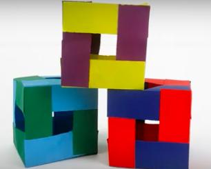 Paper 3D Cubes