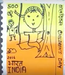 Paper Stamp - Kids Paper crafts
